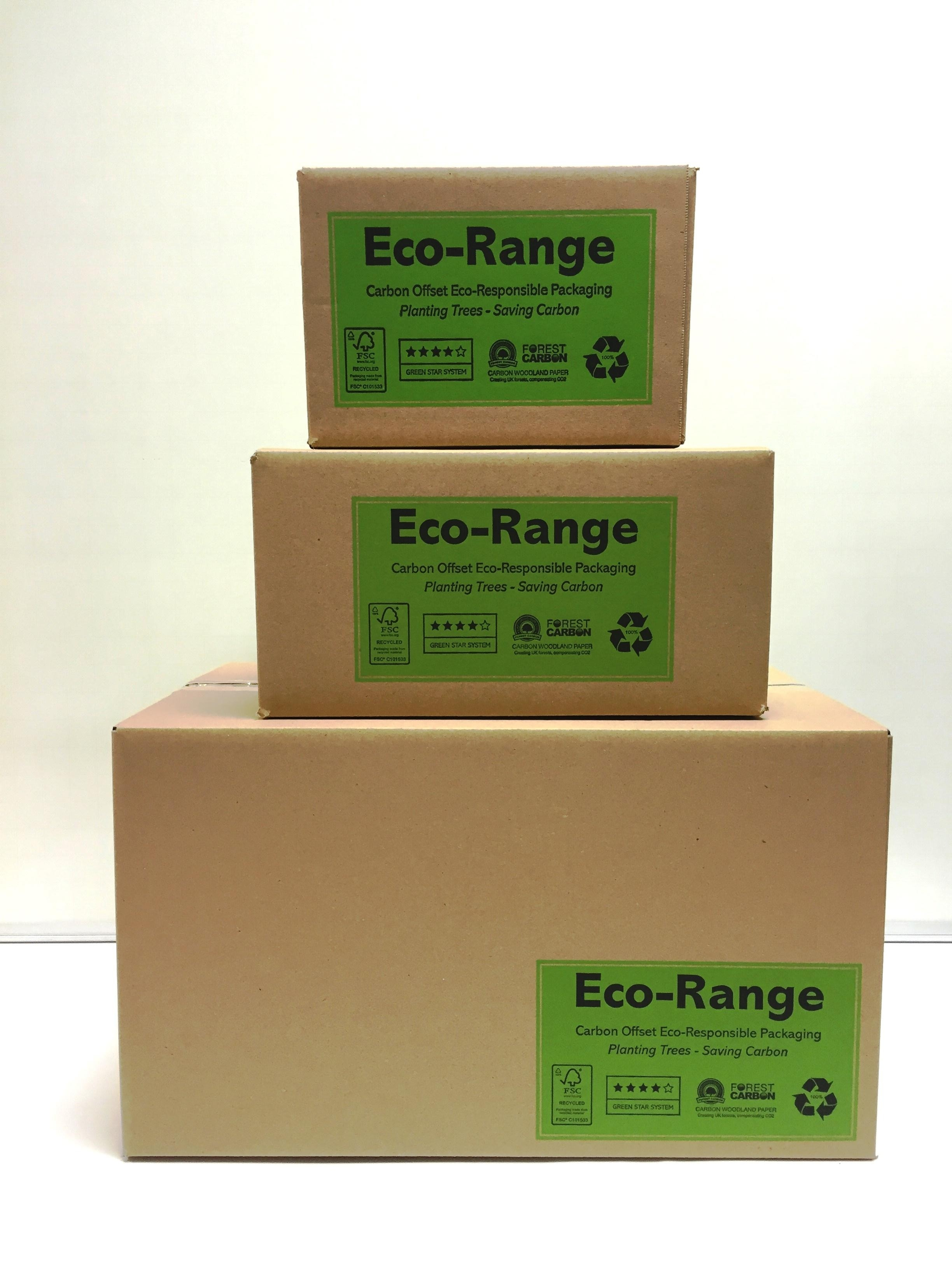 exclusive eco-range offers carbon neutral packaging