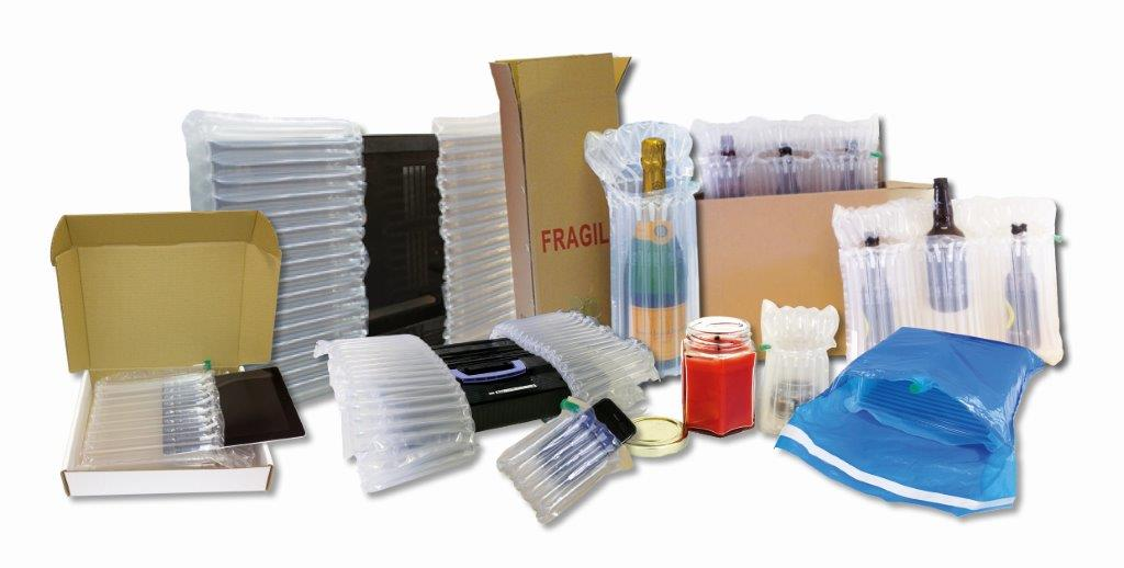 New Inflatable packaging for fragile goods